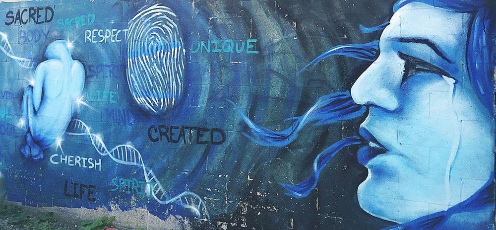 Street Art Outdoors Outdoor Photography Mental Health Awareness Mental Health  Graffiti Art, Drawing, Creativity Wall Art
