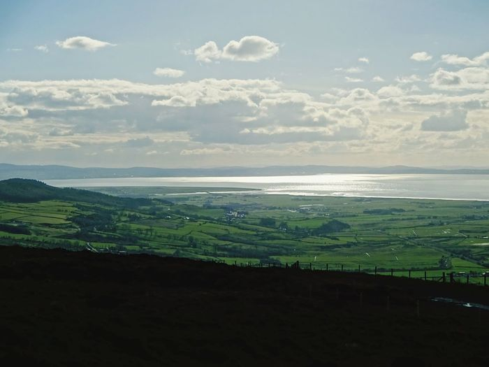 Lough Foyle Northern Ireland Beauty In Nature Breathe Love Landscape Nature Sea Cloud - Sky Beauty In Nature Tourism Tranquility No People Horizon Over Water Mountain