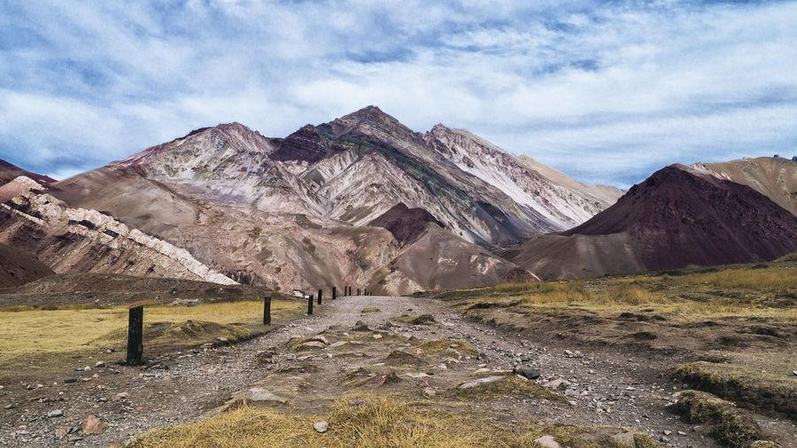 #argentina Diente De León Geology Landscape Mendoza #argentina Mountain Mountain Range Road Rock Formation Rutasargentinas Statue