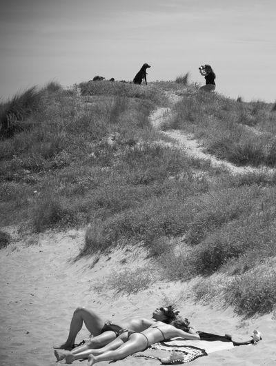 Blackandwhite Streetphotography Sand Hollidays