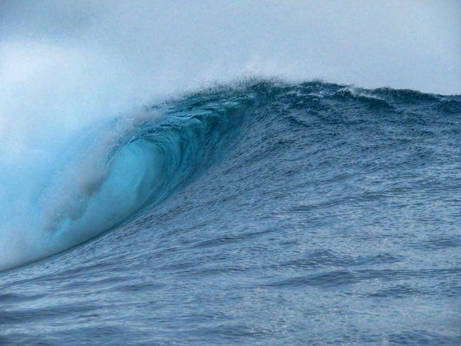 South Pacific Beach Tahiti Wave Surf Surfbreak Teahupoo Tahiti ❤ Go Higher Summer Exploratorium