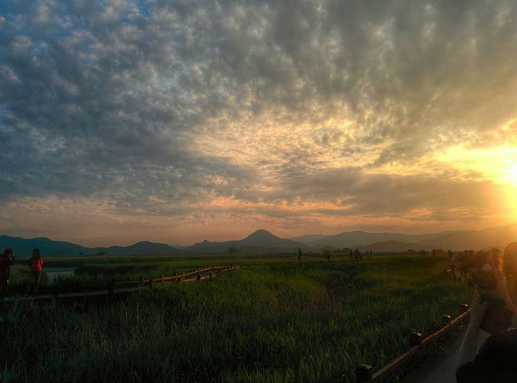 Sunset at Suncheon Korea