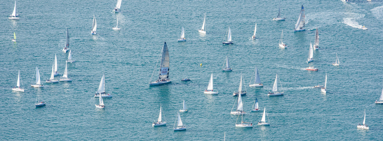 Barcolana Race 2018. Trieste Boating Regatta Day Travel Travel Photography Trieste Yachting Sport Activity Adriatic Sea Barcolana Boat Competition Competition Day Italy Journey Race Regatta Regatta Italian Style Sail Sailboat Sailboats Sea And Sky Ship Sport Yacht Yachting