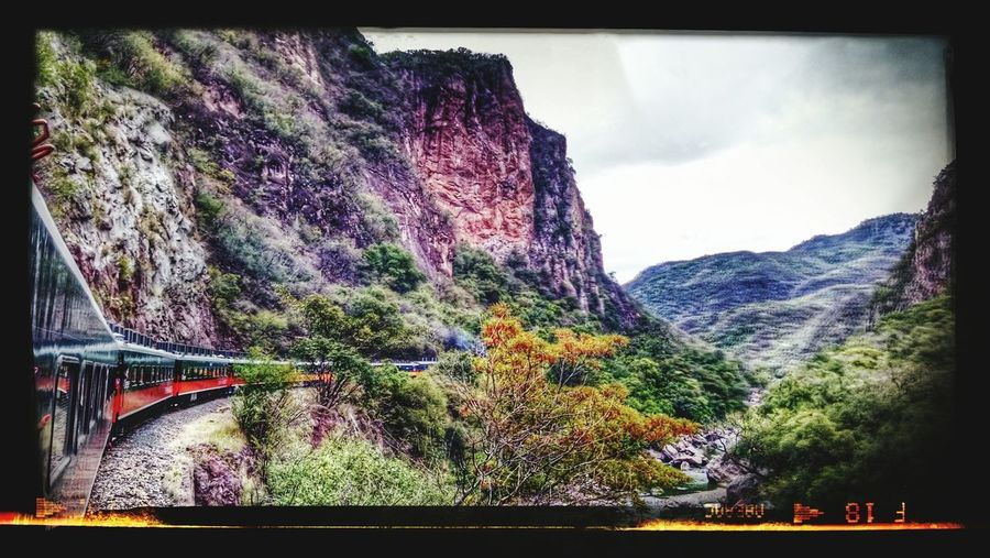 Train trip on the way to Creel town or MagicalTowns in the chiuahua state in Mexico this is a true majestic Mexican grand canyon located at edge of chiuahuan desert Creel MagicalTowns Chiuahua Mexico The Great Outdoors - 2015 EyeEm Awards Happy&traveling Backpacking Adventure Club Ontheway Traveling Travelingbytrain EyeEmNewHere