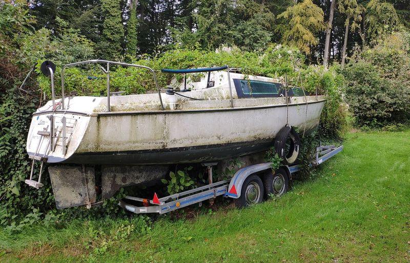 Segelboot An