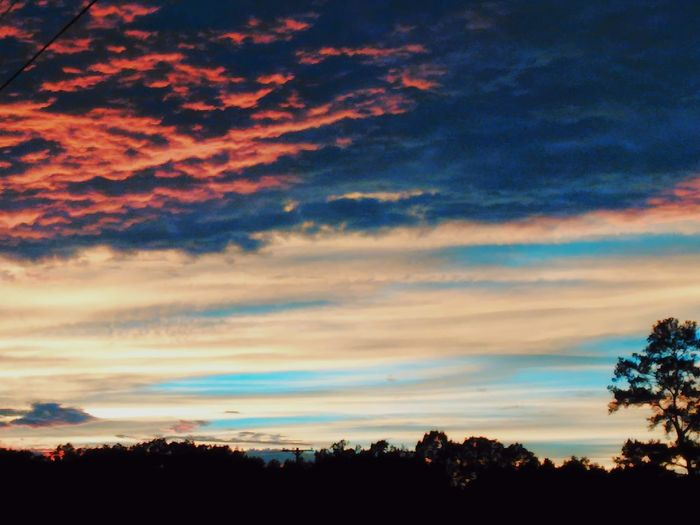 Dramatic Sky Tranquil Scene Landscape Dusk Sunset Beauty In Nature Scenics Sky Fire Skies Southern Sunset Sunset_collection Sunset Photography Sunset Lovers Sunset Collection EyeEm EyeEm Best Shots - Landscape Clouds And Sky Outdoor Photography Eye Em Nature Lover Mississippi  Mississippi Weather Mississippi Nature Sky Collection EyeEm Best Shots