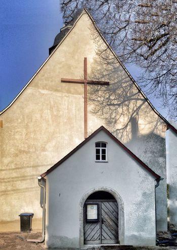 Village chirch Lichtenhain/ Saxonia-Germany OpenEdit Taking Photos Walking Around IPhoneography Shadow Church