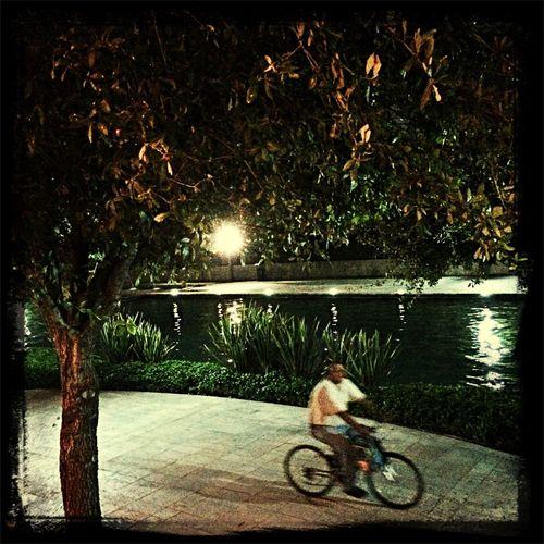 Rodando en el agua
