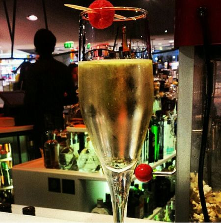 Save Water, Drink Champagne 🍸😉 Drugstore Drugstore Publicis ParisByNight Chilling Drinking Champagne Champagne Lover Avenue Des Champs Elysees ParisianLifestyle AfterWork~ChillTime