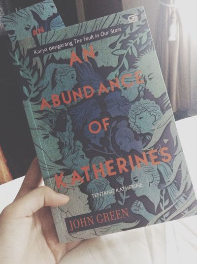 In love with this book? add me on snapchat : ronasiadjaa ? Johngreen Anabundanceofkatherines