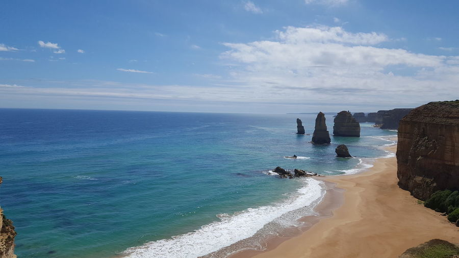 Amazing view! 12 Apostles Amazing Coastline Awesome_view Beauty In Nature Coastline Great Views Tranquility Turquoise Sea Victoria