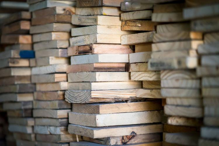 Full frame shot of wood planks