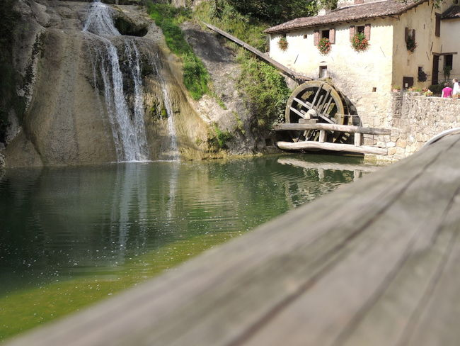 Molinetto Della Croda Alternative Energy Architecture Beauty In Nature Bridge - Man Made Structure Building Exterior Built Structure Day Fuel And Power Generation Hydroelectric Power Nature No People Outdoors Water Watermill Watermills