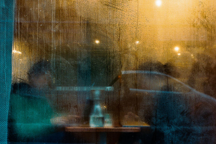 The Street Photographer - 2018 EyeEm Awards Architecture Backgrounds Blurred Motion City Defocused Full Frame Glass Glass - Material Illuminated Indoors  Mode Of Transportation Motion Night No People Reflection Street Transparent Transportation Wet Window