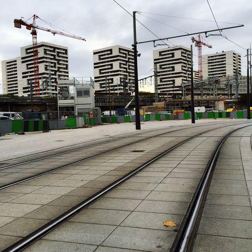 architecture parisienne Paris Architecture Tramway Rail Immeuble Immobilier