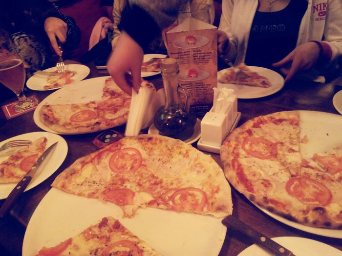 Pizza Time with dear!:*