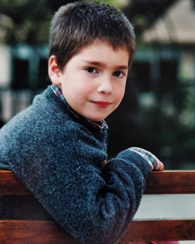 EyeEm Selects Portrait Child Warm Clothing Childhood Males  Smiling Looking At Camera Close-up Casual Clothing