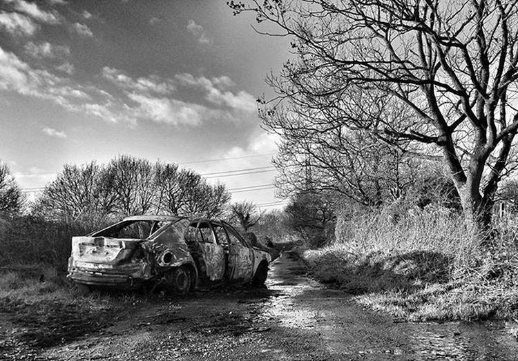 Wolverhampton Burnedoutcar Burned Out Cars Stark