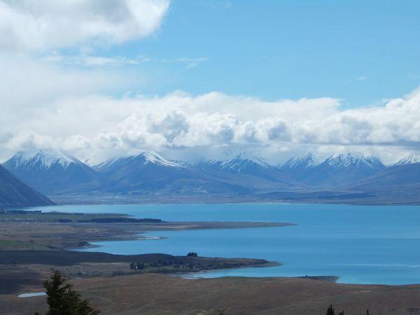 Lake Lake View Lake Tekapo New Zealand Snowcapped Mountains Water Scenery Landscape Turquoise Water The Great Outdoors - 2017 EyeEm Awards