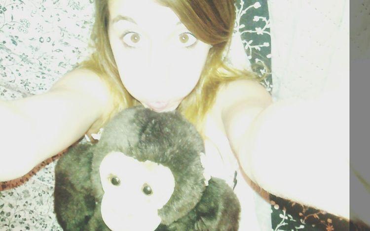 Monkey looove ♡♥ Taking Photos Relaxing Hello World