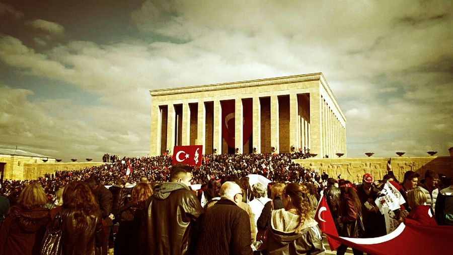 Anitkabir Atatürk Turkey Anitkabir Museum Turkish Flag People 10kasım09:05 EyeEm Selects