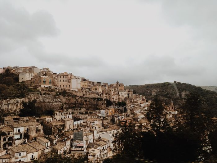 Italy Sicily Ragusa Ibla, Sicily VSCO EyeEmBestPics EyeEm Best Shots EyeEmNewHere Building Exterior Architecture Built Structure Building Sky City Residential District Cloud - Sky Nature No People Tree Outdoors Day It's About The Journey