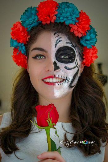 Catrina Celebracion Mexico Catrina Festejo Tradición