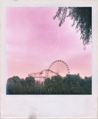 Architecture Amusement Park Sky Nature Cloud Beauty In Nature Tree Amusement Park Ride Big Wheel