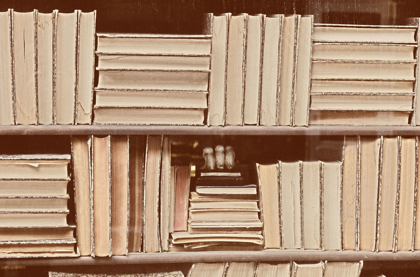Old Books - Grain added Books Bookshelf Business Old Photo Old-fashioned Retro Backgrounds Book Bookshop Brown Concept Education Hardcover Book Knowledge Large Group Of Objects Literature Nostalgia Old Paper Pattern Reading A Book Sepia The Past Vintage Vintage Photo
