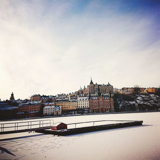 Dai andiamo a Stoccolma. Stockholm Streetphotography Capital Cities  #Sunday Travel Destinations Nordic EyeEm Selects Beach Sky Outdoors Day No People Sea