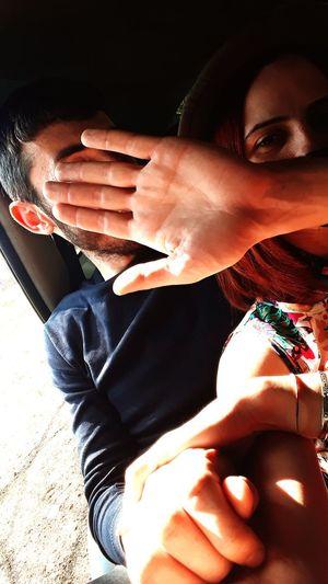 Human Hand Close-up