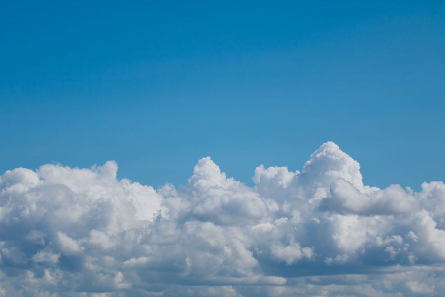 Backgrounds Beauty In Nature Blue Cloud - Sky Cloudscape Day Fluffy Heaven Idyllic Low Angle View Majestic Nature No People Outdoors Scenics Sky Sky Only Softness The Natural World Tranquil Scene Tranquility White Color