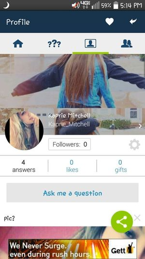 I just created a profile so go ask me some questions on ask.fm ✌😉 Model Popular Today's Hot Look