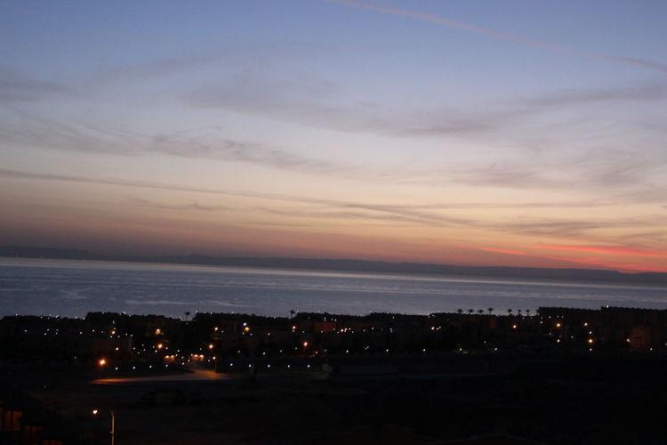 Beauty In Nature Everydayafrica Everydayegypt Nature Northcoast Sea Sky Sunrise Water