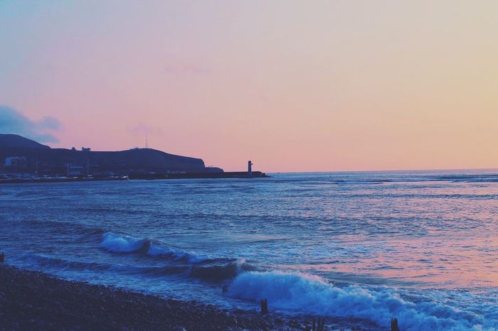 Sea Sunset Beauty In Nature Water Tranquil Scene Scenics No People Sky Outdoors Horizon Over Water Beach Photooftheday First Eyeem Photo Fine Art Photography EyeEmBestPics Another Point Of View Beauty In Nature EyeEm Best Shots EyeEm Gallery Beachphotography Eye4photography  Indoors