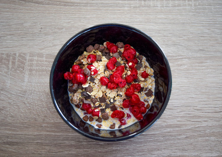 oatmeal in a