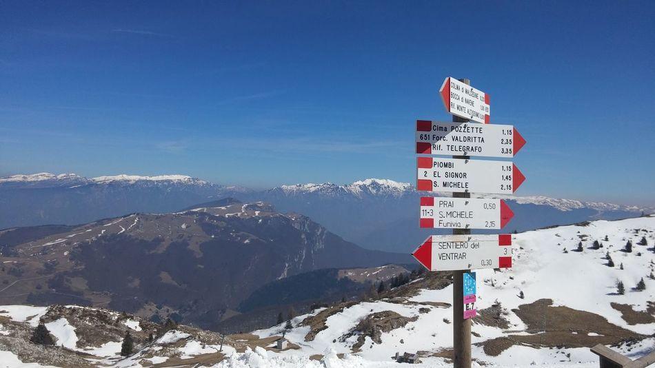 #clearsky #gardasee #italy #lagodigarda #landscape #monte Baldo #Mountain #snow
