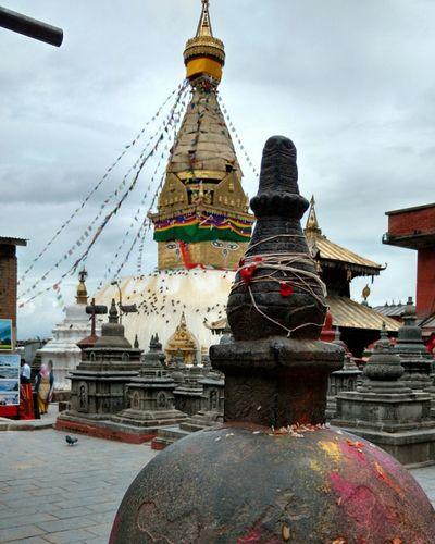 Swoyambhu Swoyambhunath Temple Monkeytemple Place Of Worship No People Ancient Architecture Travel Photography TravelNepal Traveldiaries Kathmandu, Nepal Fun Picoftheday Mobilephotography Mobography Happyweekend Tgif