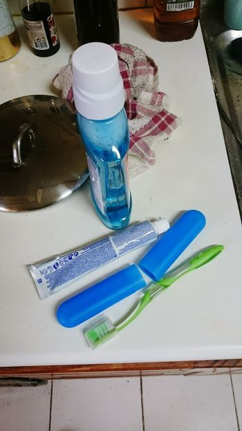 Daily Life Dailylife Daily Routine Brushing My Teeth Toothpaste
