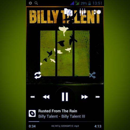 О, великий Billytalent , спаси и сохрани...