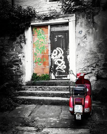 Trieste Trieste Colors Vespa City Italy Beautiful Vintage Mycity
