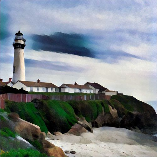 Pigeon Point Lighthouse Fine Art Photograhy JustGPhotos Hidden Gems  Showcase July Lighthouse Prismacolor Location California Pigeon Point  Pigeon Point Beach