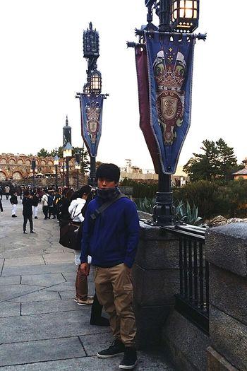 English Section DisneySea Tokyodisneysea My Son In Tokyo My Son Theme Park Resort Tokyo Japan TokyoDec2016 JapanDec2016