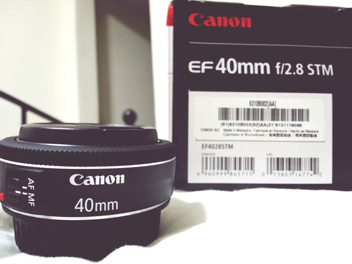 the new baby is here. pancake lens. Eyeforphotography Photography Canon