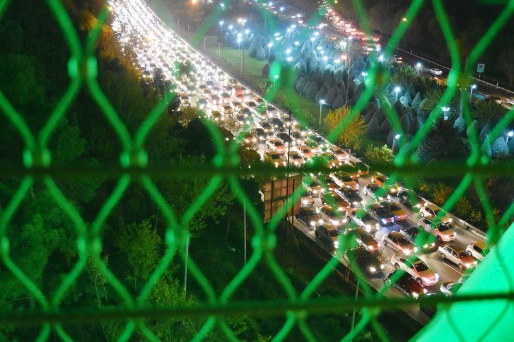 Stuck in traffic jam prison Seeing The Sights Showcase: November
