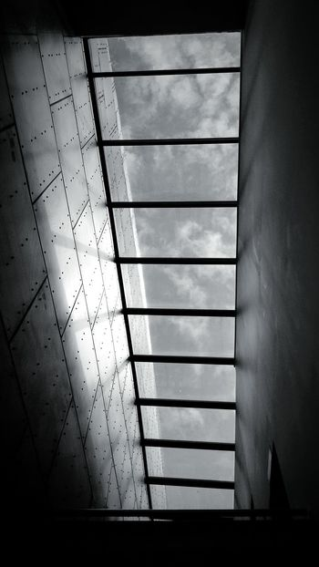 Black & White Ceiling Window