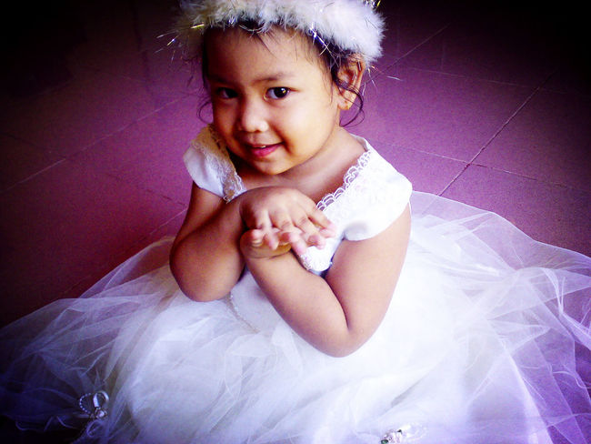 3 years old Balqis Princess Little Girl My Little Sister