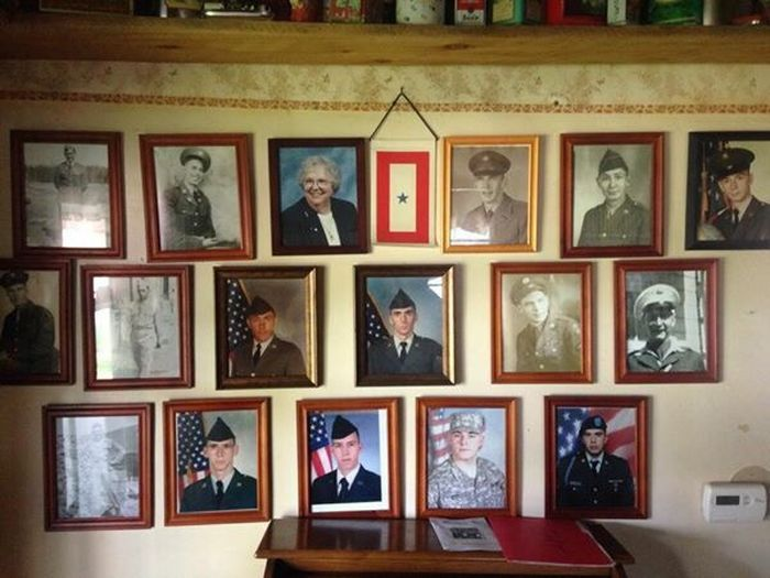 Family History Veterans MommasHeroWall!! WWII To Present Day! Father Uncles Brothers My Son=Purple Heart Recipient Honored To Call Them Family!! Lots Of Pride