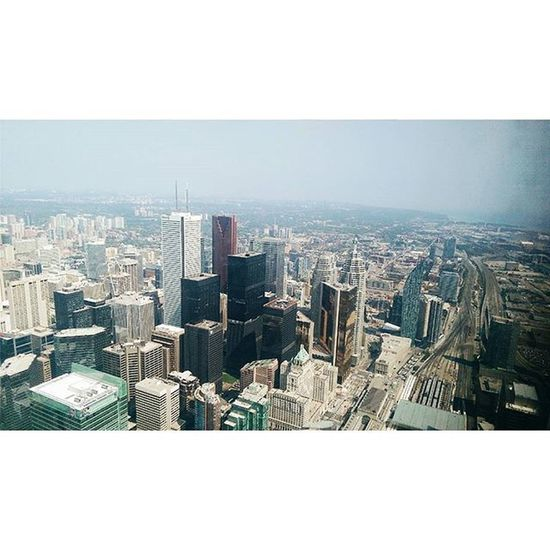 Barad-dûr Toronto Tolkein Travel Fearofheights Towers Architecture Buildings Instagood Instadaily Vscocam @instagood Uphigh Eek