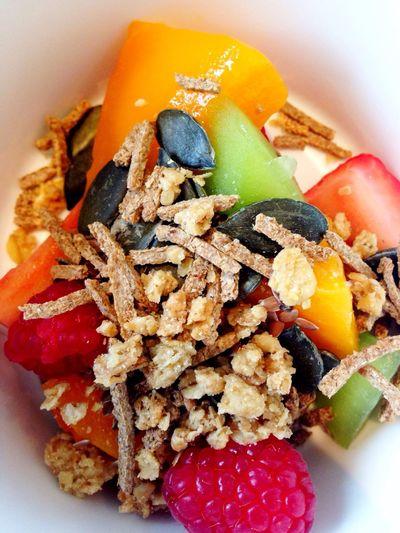 Breakfast Food Muesli Fruit Yummy Eat